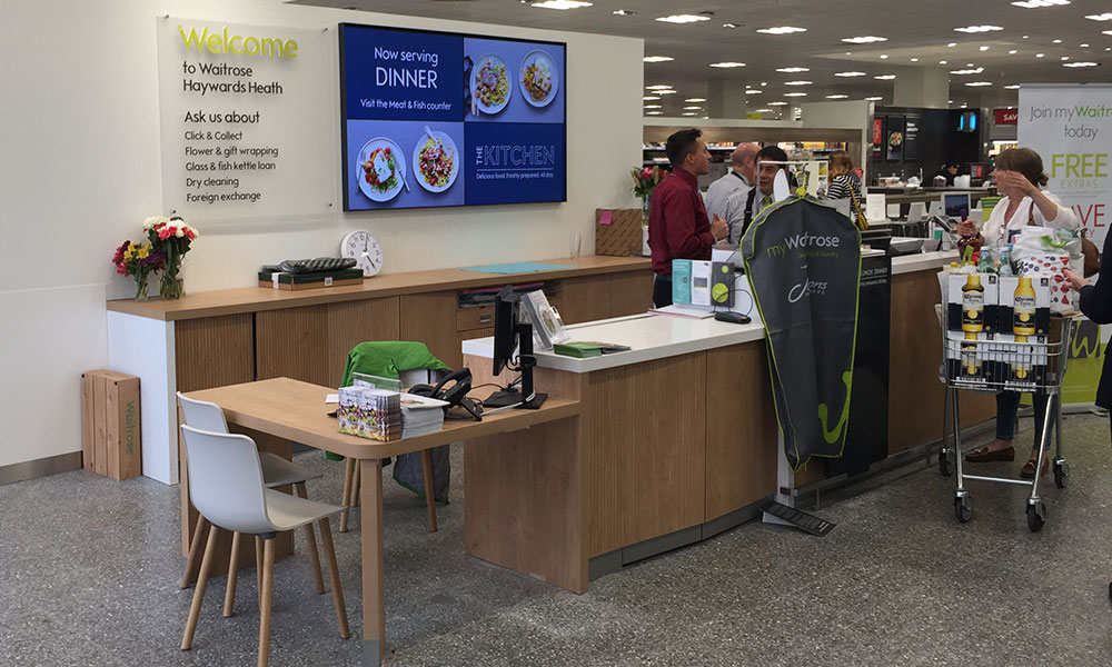 brief background of waitrose Shop for sofas, beds, tvs, ipads & fashion online free delivery on orders over £50.